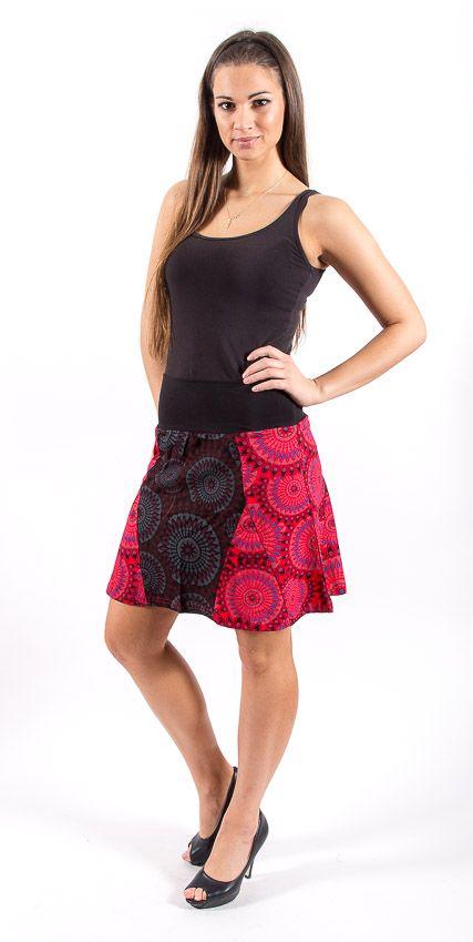 Dámská letní krátká sukně RIMINI, bavlna Nepál NT0101 13 001 KENAVI