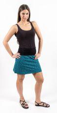 Dámská zateplená krátká sukně WARM, flaušová bavlna Nepál NT0101 15 002 KENAVI