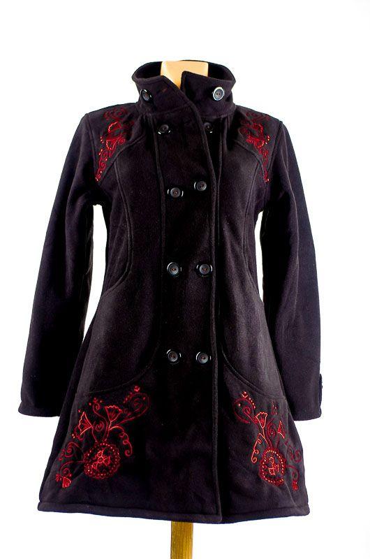Dámský fleesový kabátek ANABELLE A s teplou podšívkou NT0016 01 002 KENAVI