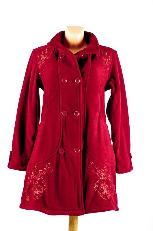 Dámský fleesový kabátek ANABELLE A s teplou podšívkou NT0016 01 001 KENAVI