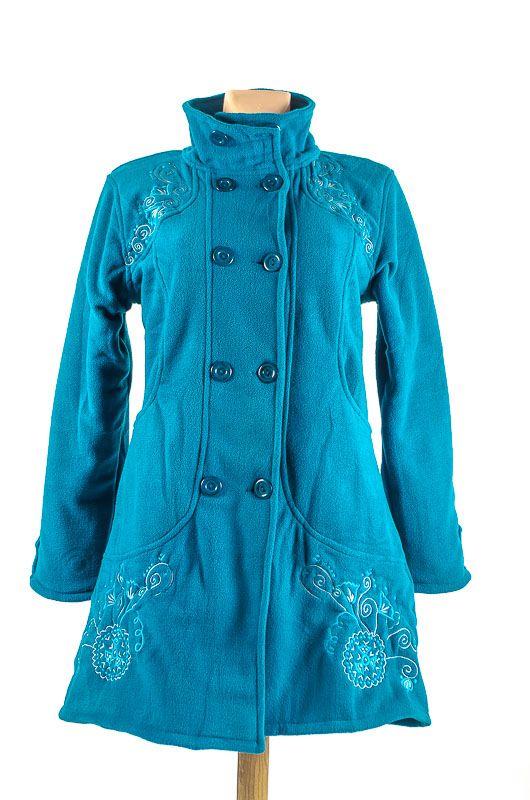 Dámský fleesový kabátek ANABELLE A s teplou podšívkou NT0016 01 003 KENAVI