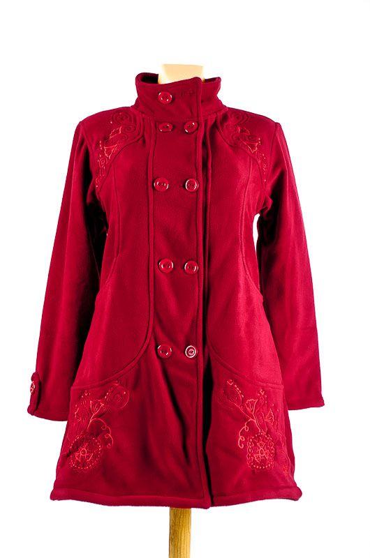 Dámský fleesový kabátek ANABELLE A s teplou podšívkou NT0016 01 004 KENAVI