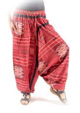Kalhoty turecké harémové ORIGIN ROUGH bavlna Thajsko