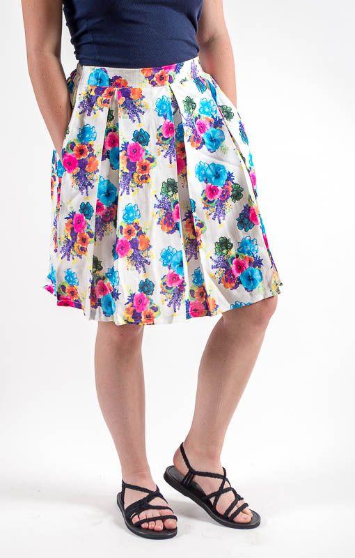 Krátká dámská letní sukně SPRING TT0120 00 002