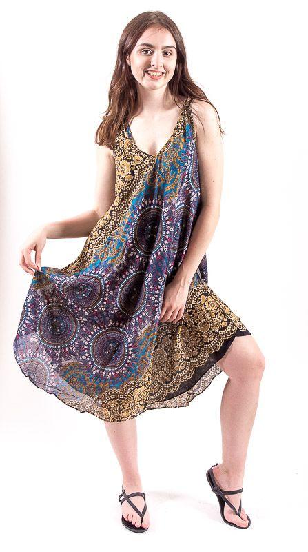 Ležérní dámské letní šaty HIBISCUS TT0112-01-002