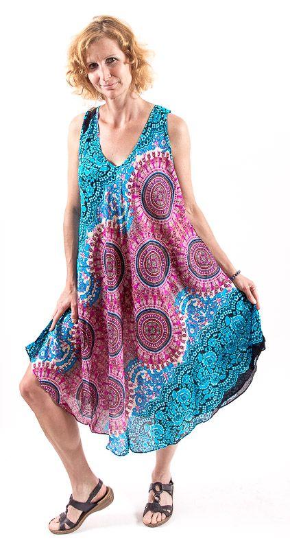 Ležérní dámské letní šaty HIBISCUS TT0112-01-007