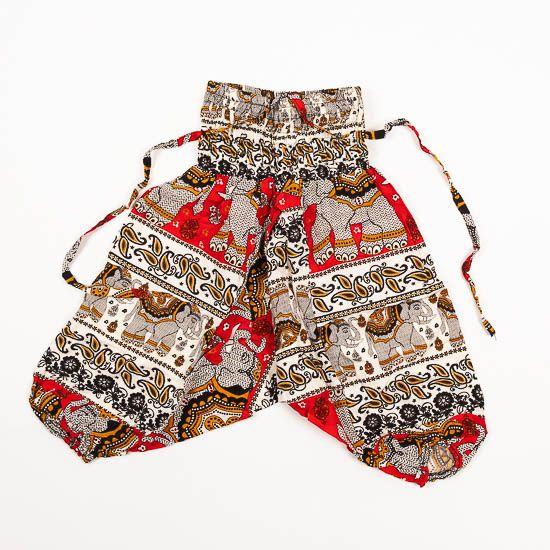 Dětské letní turecké kalhoty harémové BABY ORIGIN 49 cm TT0013 02 006
