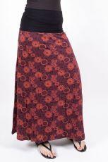 kopie Dámská letní dlouhá sukně LA PAZ, bavlna Nepál