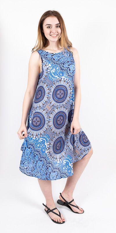Ležérní dámské letní šaty HIBISCUS TT0112-01-009