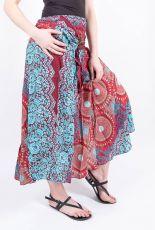 Dámská letní dlouhá sukně LAURA V, viskóza Thajsko (057)