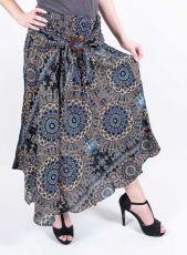 Dámská letní dlouhá sukně LAURA V, viskóza Thajsko (061)