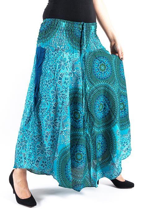 Dámská letní dlouhá sukně LAURA V, viskóza Thajsko TT0033 02 018