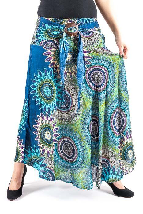 6c094aecb2b9 Dámská letní dlouhá sukně LAURA V