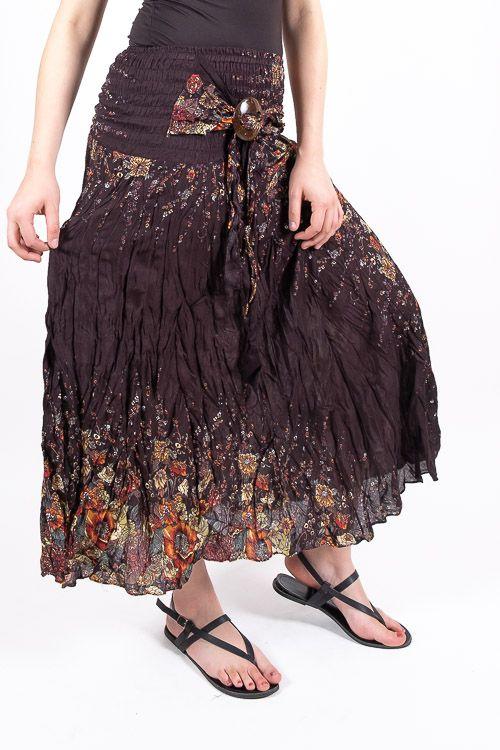 Dámská letní dlouhá sukně LAURA V, viskóza Thajsko TT0033 00 052