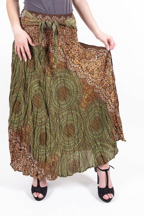 Dámská letní dlouhá sukně LAURA V, viskóza Thajsko TT0033 00 053