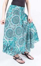 Dámská letní dlouhá sukně NICOL 1, viskóza Thajsko (023)