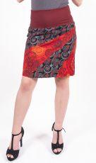 Dámská letní krátká sukně CORINA, bavlna Nepál (001)
