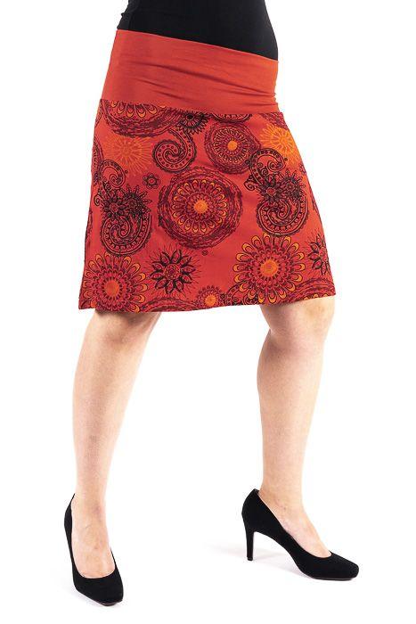 569e86882e48 Dámská letní krátká sukně PLAZA