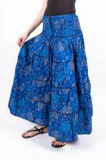Dámská letní krátká sukně ZAMIA LONG MAXI, bavlna Nepál