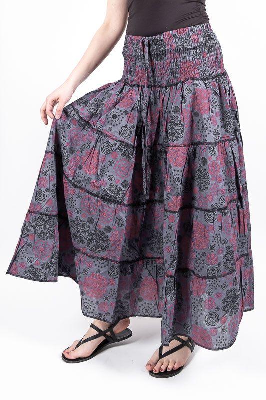 Dámská letní krátká sukně ZAMIA LONG MAXI, bavlna Nepál NT0101 121 004 KENAVI