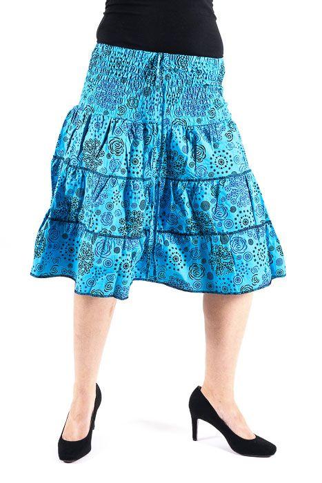 bc57b2ee6eb6 Dámská letní krátká sukně ZAMIA MIDI
