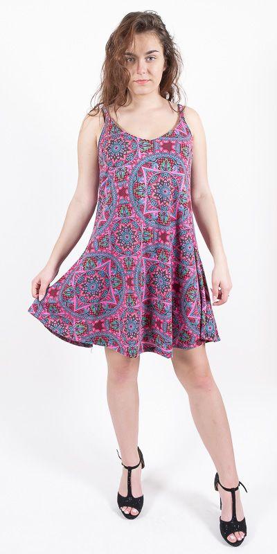 Dámské letní šaty - tunika - z pružného materiálu TT0024 0 151