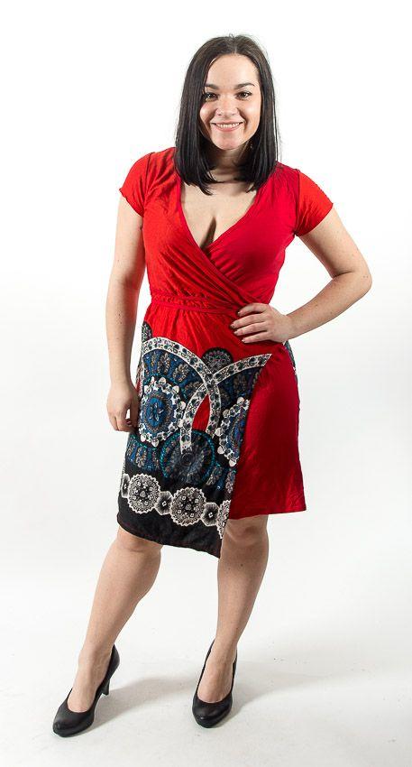 Dámské letní šaty - tunika - z pružného materiálu TT0024 0 128