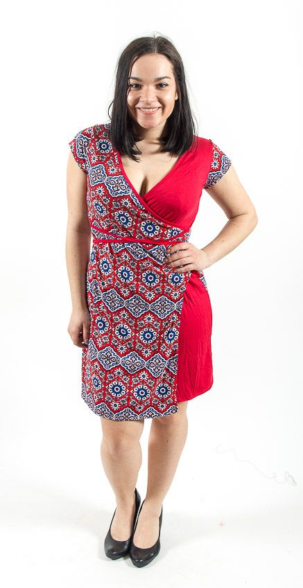 Dámské letní šaty - tunika - z pružného materiálu TT0024 0 130
