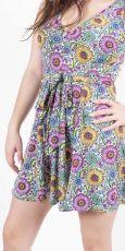 Dámské letní šaty z pružného materiálu TT0024 0 154