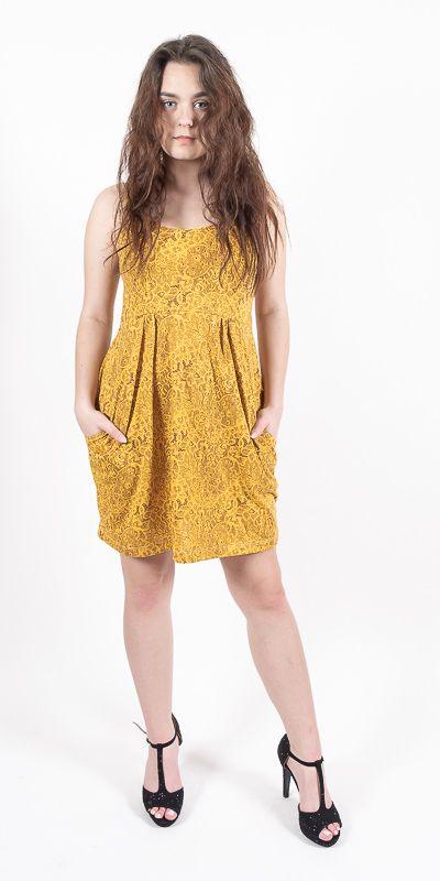 Dámské šaty JUMMY s kapsami TT0023 100