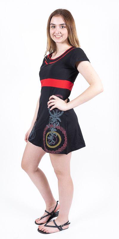 Dámské šaty z Nepálu COCO, 100% bavlna NT0048 87 001 KENAVI