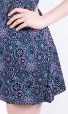 Dámské šaty z Nepálu TULI, 100% bavlna NT0048-84A-003 KENAVI
