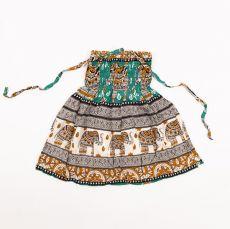 Dětské letní minišatičky (sukně)  CUTIE  40 cm