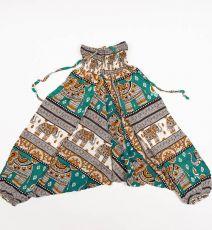Dětské letní turecké kalhoty harémové  BABY ORIGIN  80 cm