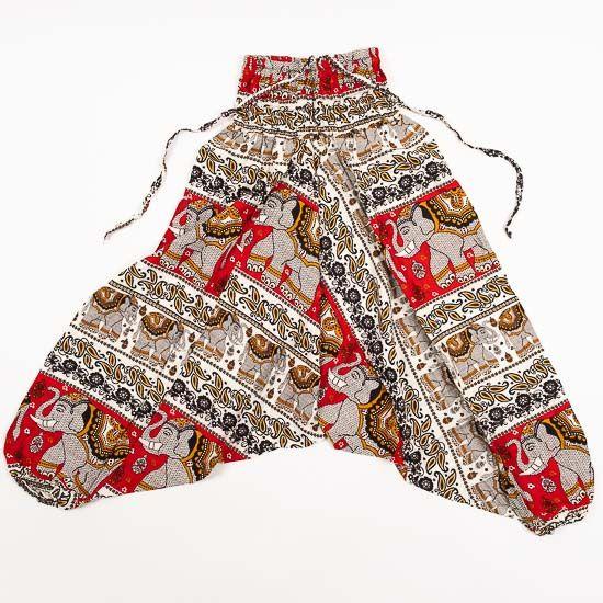 0137f1211 Dětské letní turecké kalhoty harémové BABY ORIGIN 54 cm TT0013 03 005