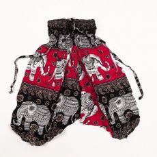 Dětské letní turecké kalhoty harémové  BABY ORIGIN  49 cm