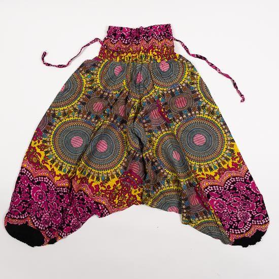 Dětské letní turecké kalhoty harémové BABY ORIGIN 54 cm TT0013 03 012