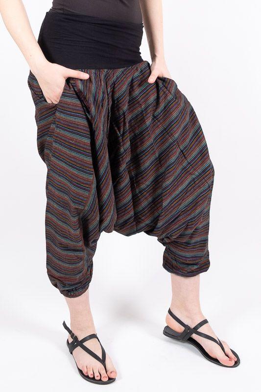 Kalhoty ALADIN TEX, bavlna Nepál NT0096 10 007 KENAVI