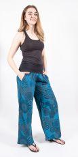 Kalhoty CARMEN, bavlna Nepál (dole ztahovací nohavice)