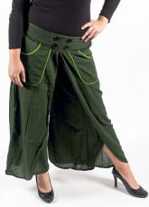 Kalhoty rozhalenkové DRAGONFLY , bavlna Nepál