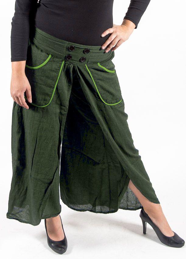Kalhoty rozhalenkové DRAGONFLY , bavlna Nepál NT0096 08 002 KENAVI