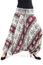 Kalhoty turecké harémové ORIGIN viskóza Thajsko