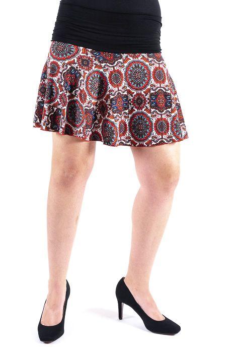 Krátká dámská letní sukně LOLA TT0102 01 024
