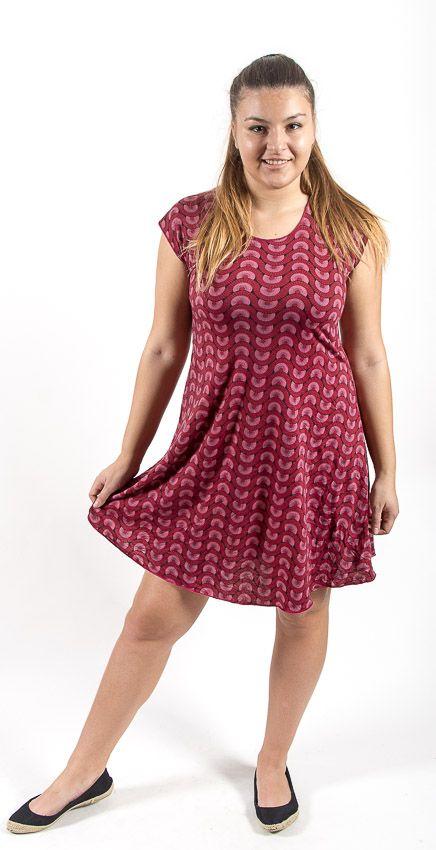 25ae7a8a6 Letní šaty - tunika z pružného materiálu TT0024 05 009