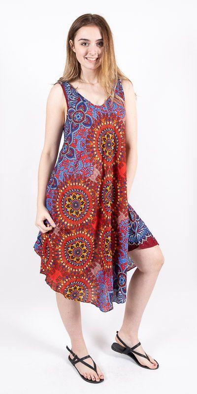 Ležérní dámské letní šaty HIBISCUS TT0112-01-011