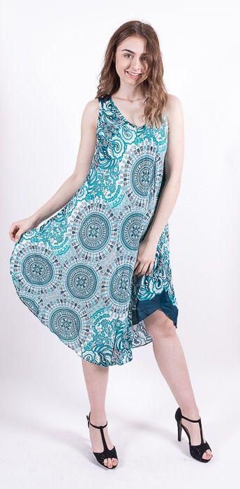 Ležérní dámské letní šaty HIBISCUS TT0112-01-015