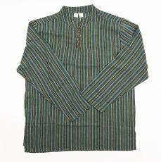 Pánská košile s dlouhým rukávem Nepál