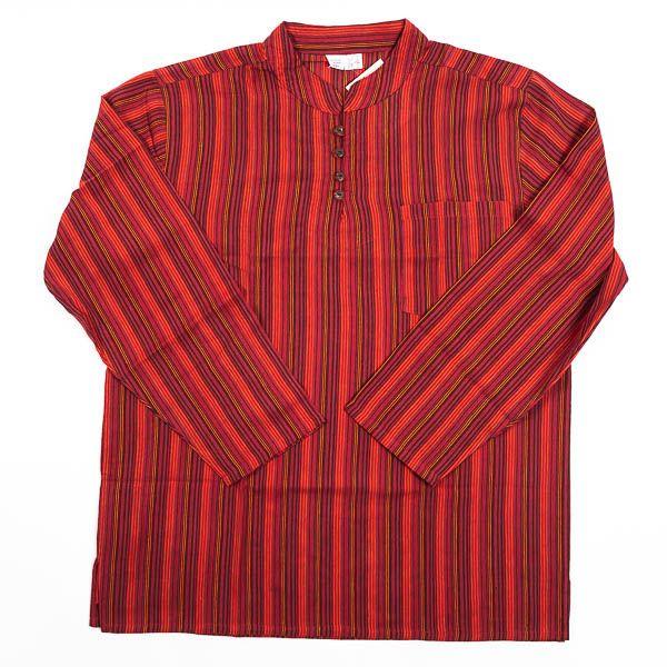 Pánská košile s dlouhým rukávem Nepál NT0009 03 004 KENAVI