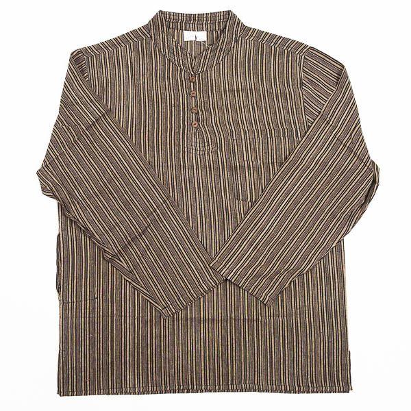 Pánská košile s dlouhým rukávem Nepál NT0009 03 005 KENAVI