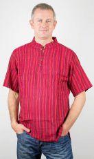 Pánská košile s krátkým rukávem Nepál NT0009 02 003 KENAVI